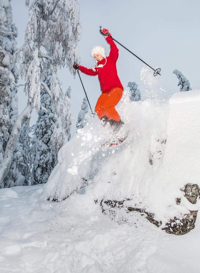 Lumikenkäkävely, Koli, Katariina Okkonen