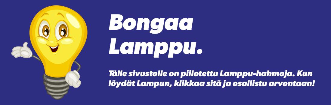 Bongaa lamppu - Energiaa KSOY