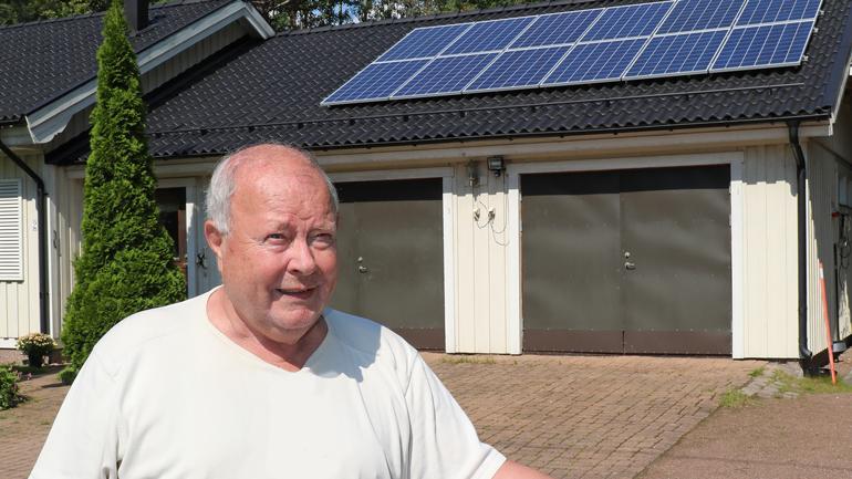 aurinkopaneelit, Saarman