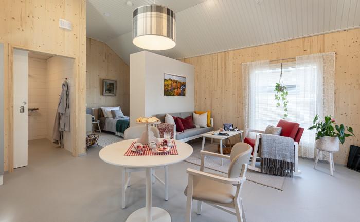 Kouvolan asuntomessut Lapinjärvi-talo