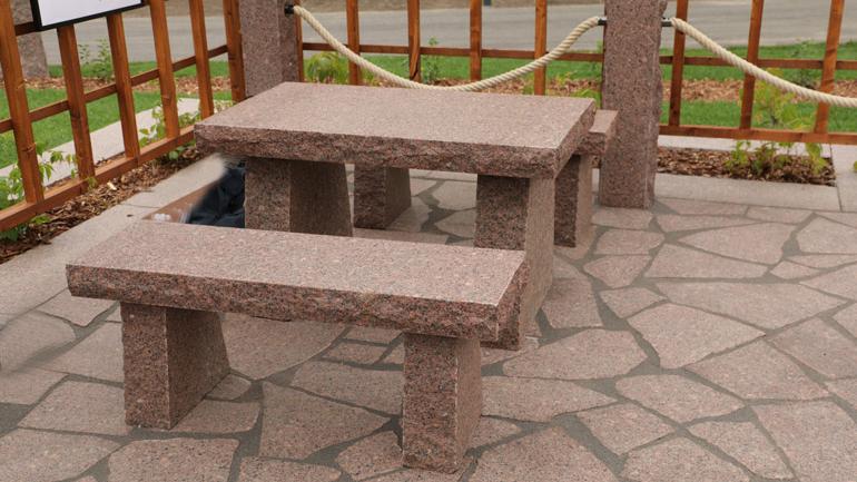 Kouvolan asuntomessut graniittikalusteet