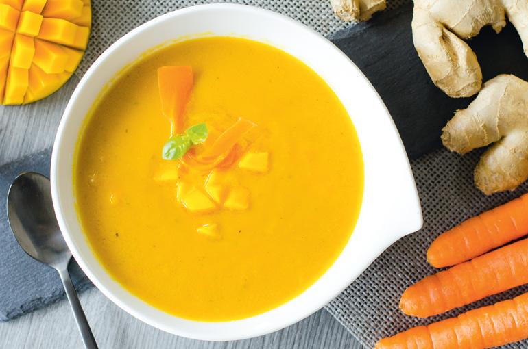 porkkana-mangokeitto